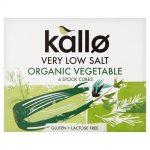 Low Salt Vegetable Stock Cubes 66g