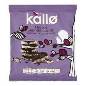 Belgian Chocolate Mini Rice Cakes 40g