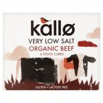 Organic Beef Stock Cubes Low Salt 51g