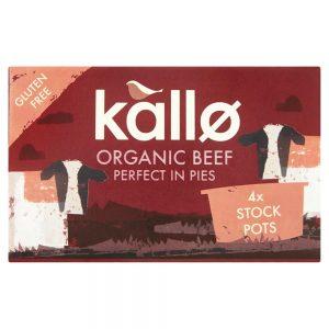 Organic Beef Stock Pots 96g