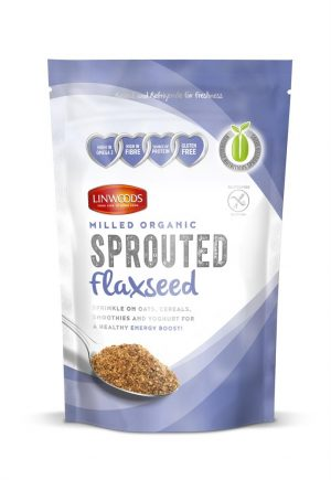 Sprouted Milled Organic Flaxseed 360g