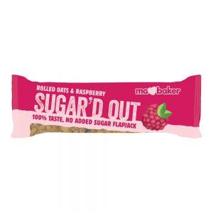 Sugard Out No Added Sugar Flapjack - Raspberry