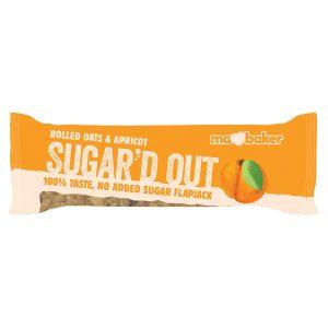 Sugard Out No Added Sugar Flapjack - Apricot