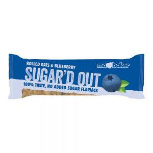 Sugard Out No Added Sugar Flapjack - Blueberry