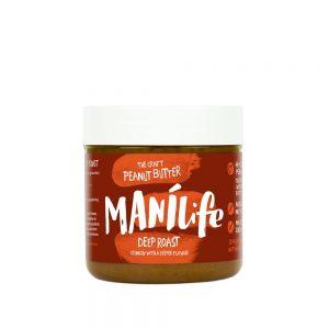 Manilife Deep Roast Crunchy Peanut Butter - 295g Jar