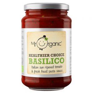 Organic Basilico Pasta Sauce 350g Jar
