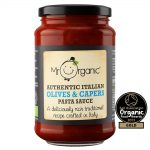 Organic Olives & Capers Pasta Sauce 350g Jar