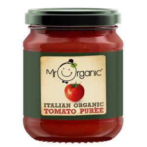 Organic Tomato Puree 200g Jar