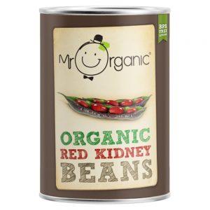Organic Red Kidney Beans 400g Tin