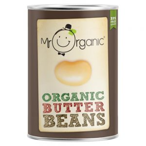Organic Butter Beans 400g Tin
