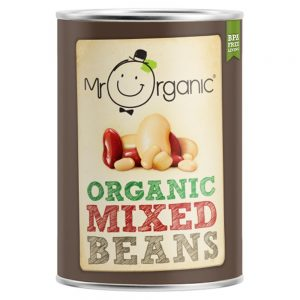 Organic Mixed Beans 400g Tin