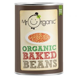 Organic Baked Beans Tin 400g