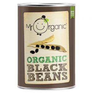 Organic Black Beans (400g Tin)