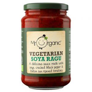 Organic Vegetarian Soya Ragu 350g Jar