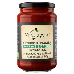 Organic Roasted Garlic Pasta Sauce 350g