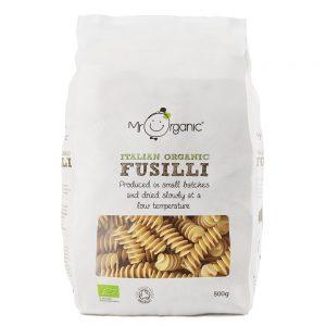 Organic Fusilli Pasta 500g