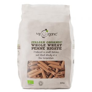 Organic Whole Wheat Penne 500g