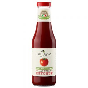 Mr Organic Naturally Sweetened Italian Organic Ketchup 480g