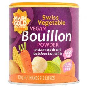 Veg Bouillon Powder Red Salt 150g