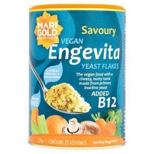 Engevita Yeast Flakes With Added B12 125g