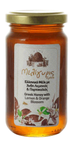 Greek Lemon & Orange Blossom Honey