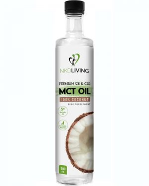 MCT Oil (60/40) from Coconuts 500ml
