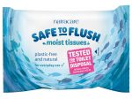 Safe to Flush Moist Tissues 30 Wipes