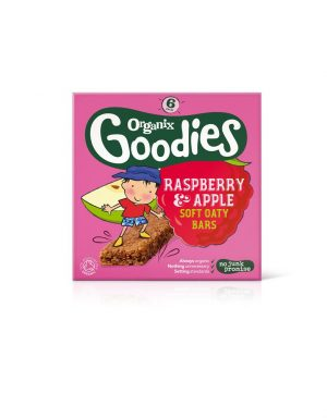 Goodies Apple & Ras Cereal Bar 6 x 30g