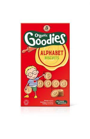 Organix Alphabet Biscuits 125g