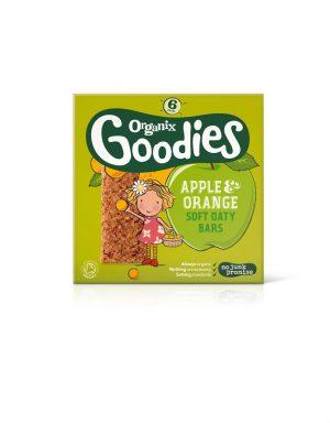 Goodies Apple & Orang Oat Bars 6 x 30g