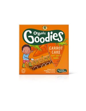 Goodies Carrot Cake Oat Bar 6 x 30g