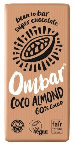Coco Almond Raw Chocolate 70g