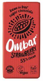 Organic Strawberry Mylk Raw Choc