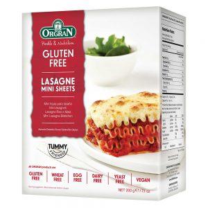 Rice & Corn Mini Lasagne Sheets 200g