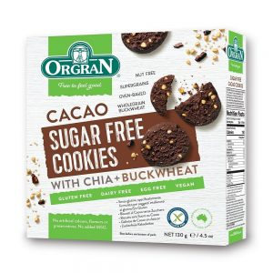 Sugar Free Cacao Cookies