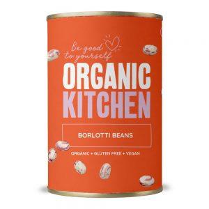 Organic Kitchen Borlotti Beans 400g