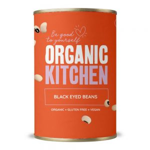 Organic Black Eyed Beans 400g