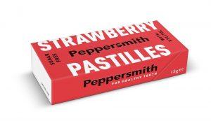 Strawberry Xylitol Pastilles 15g