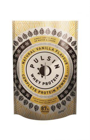 Pulsin Vanilla Whey Protein 250g