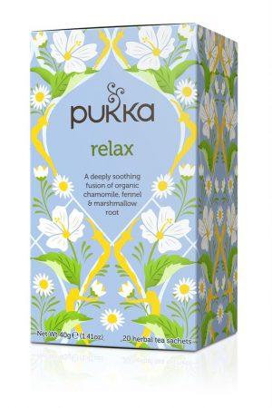 Relax Vata - Chamomile Fennel & Marshmallow Root 20 Sachets