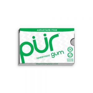 PUR Gum Spearmint Blister Pack 9pieces