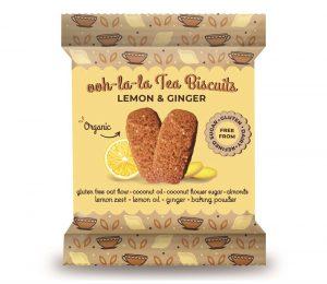 Lemon Ginger Tea Biscuit 1 sachet