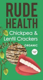 Chickpea & Lentil Crackers 120g