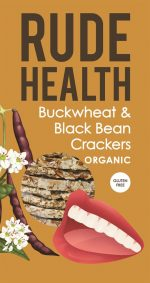 Buckwheat & Blackbean Crackers 120g