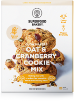 Glow Makers Oat & Cranberry Cookie Mix 280g