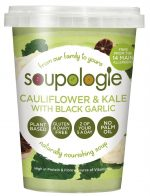 Soupologie Cauliflower Kale & Black Garlic Soup