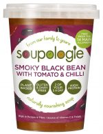 Black Bean & Chipotle High Protein Soup