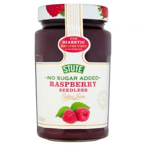 No Sugar Added Raspberry Jam 430g