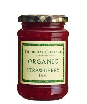 Organic Strawberry Jam 340g