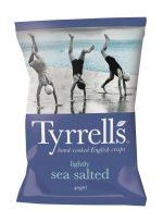 Tyrrells Potato Chips Sml Sea Salt